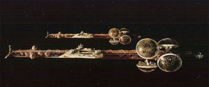 Silent Running: ships in space