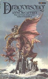 Cover image of Corgi edition of Dragonsong