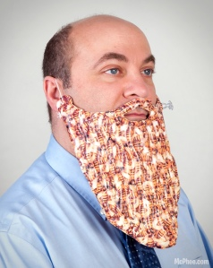 An Inflatable Beard of Bees