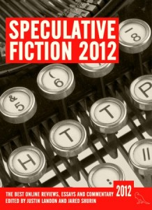 Speculative Fiction 2012 front cover